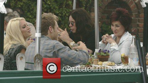 Heidi Montag, Ozzy Osbourne, Sharon Osbourne and Spencer Pratt 6