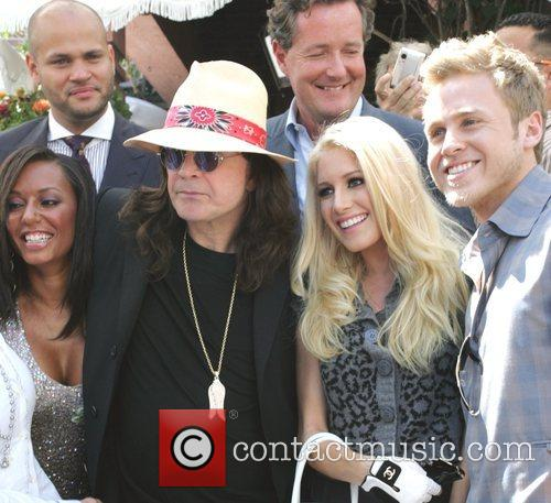 Mel B, Heidi Montag, Piers Morgan and Spencer Pratt 3