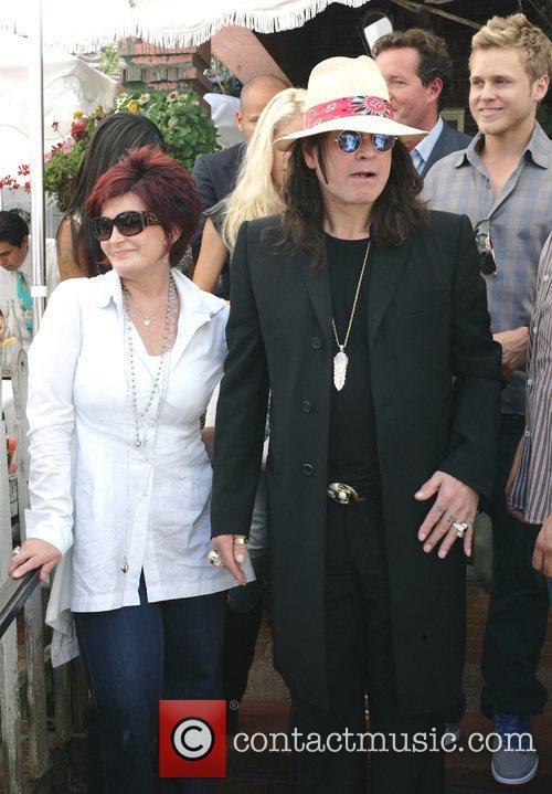 Sharon Osbourne and Spencer Pratt 4