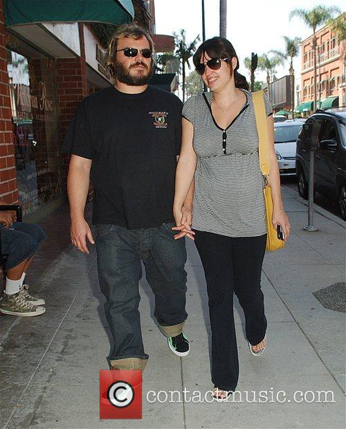 Jack Black and Pregnant Wife Tanya Haden 2