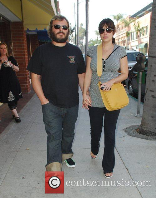 Jack Black and Pregnant Wife Tanya Haden 4
