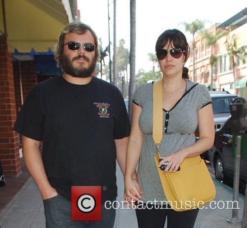 Jack Black and Pregnant Wife Tanya Haden 5