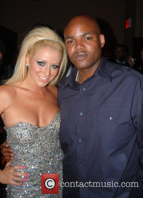Aubrey O'Day and Harve Pierre at the J'Adore...