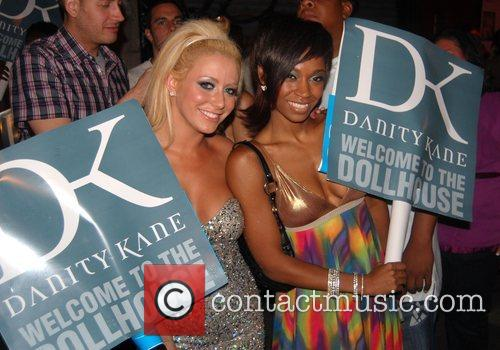 Aubrey O'Day and D Woods at the J'Adore...