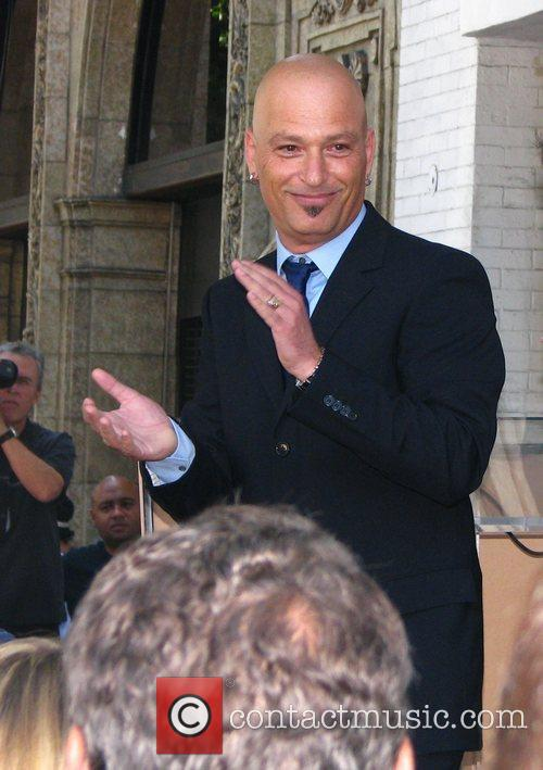 Howie Mandel a receives Hollywood Star on the...