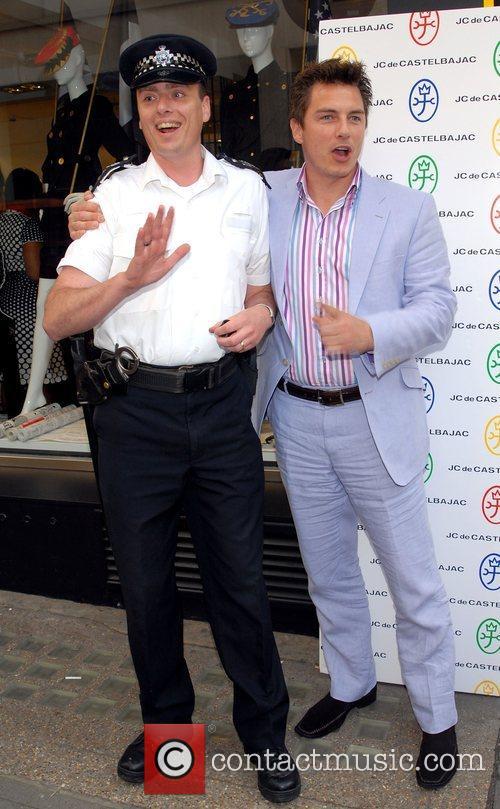 John Barrowman JC de Castelbajac Flagship Store launch...