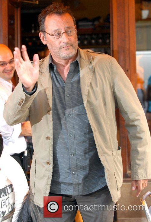 Jean Reno French actor out and about in...