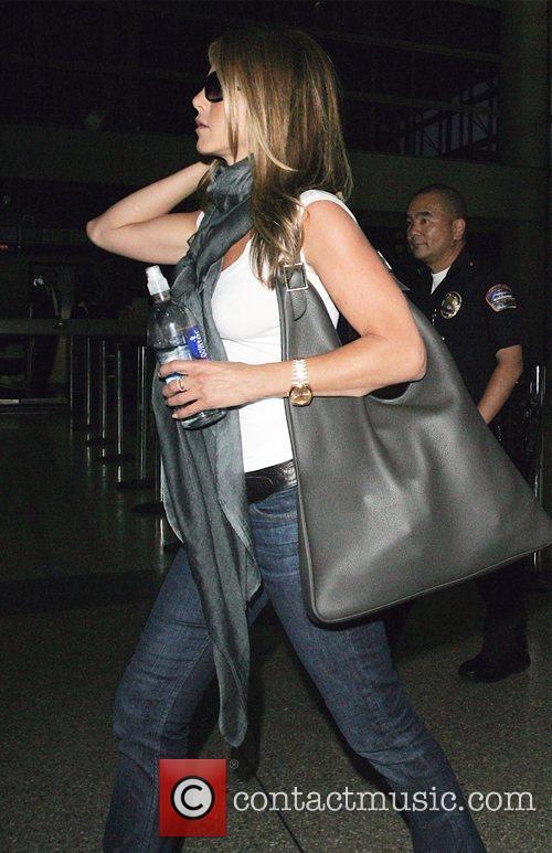 Jennifer Aniston at LAX airport