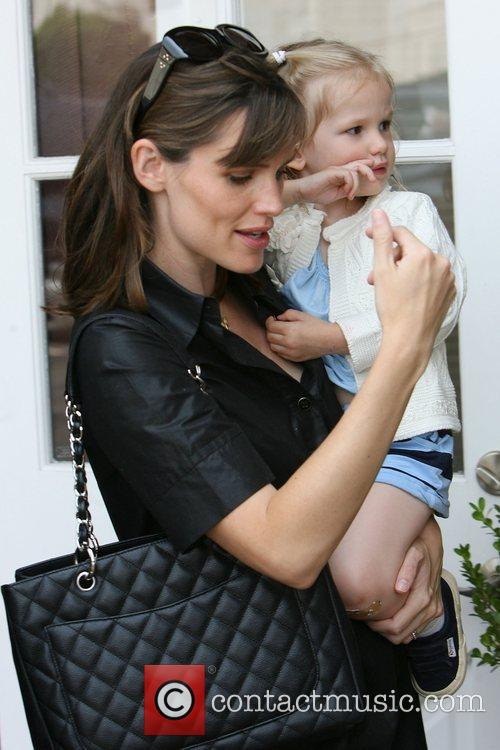 Jennifer Garner and daughter Violet Affleck go shopping...
