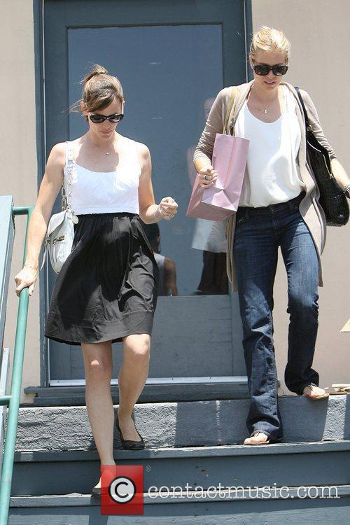 Jennifer Garner goes shopping at the Brentwood Country...