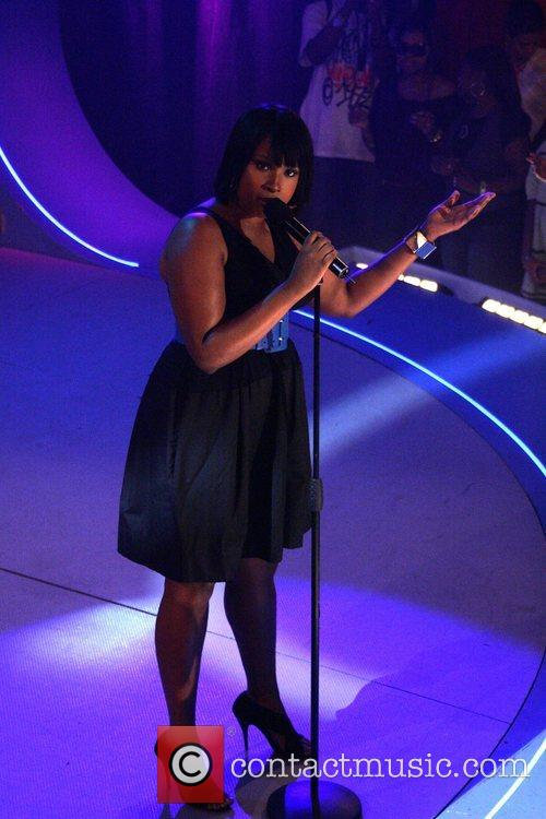 Performing for BET's '106 & Park'