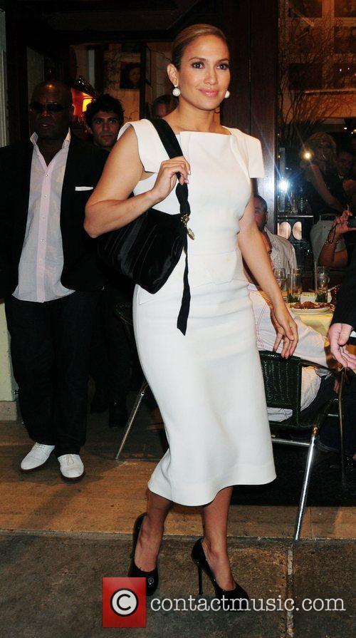 Jennifer Lopez leaving Cipriani restaurant in Downtown Manhattan...