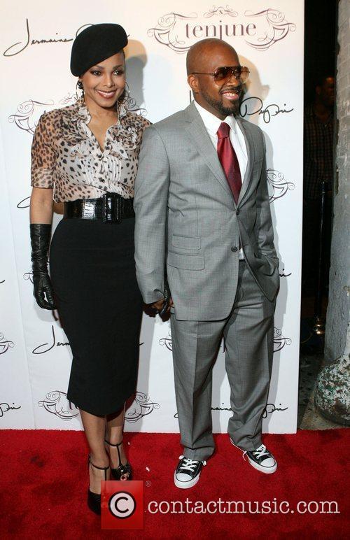 Janet Jackson and Jermaine Dupri Jermaine Dupri's 36th...