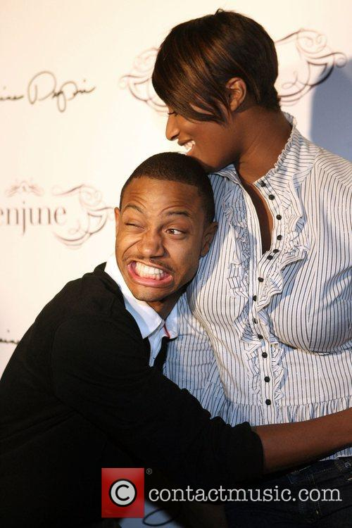 Terrence J and Toccara  Jermaine Dupri's 36th...