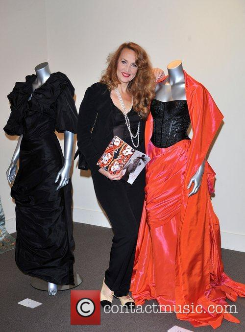Jerry Hall attends a press preview of items...