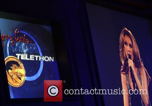 Celine Dion Jerry Lewis MDA Labor Day Telethon...
