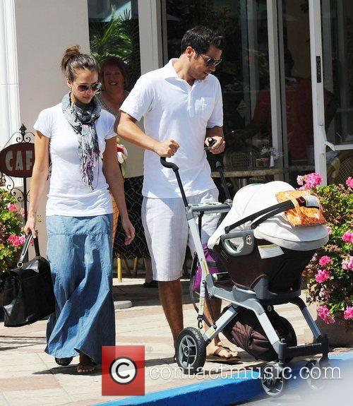 Jessica Alba and husband Cash Warren 11