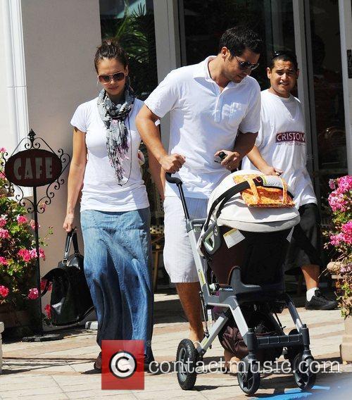 Jessica Alba and husband Cash Warren 12