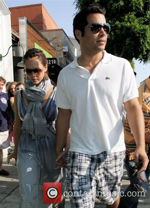 Jessica Alba and Husband Cash Warren 1