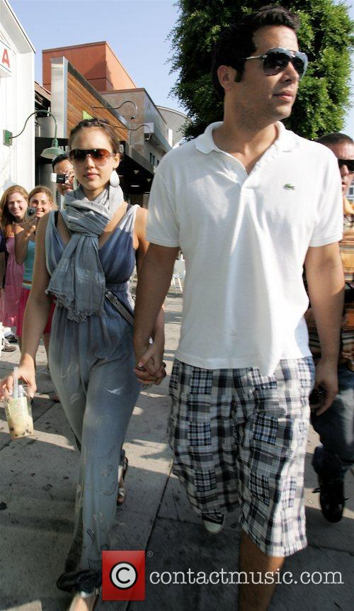Jessica Alba and Husband Cash Warren 3