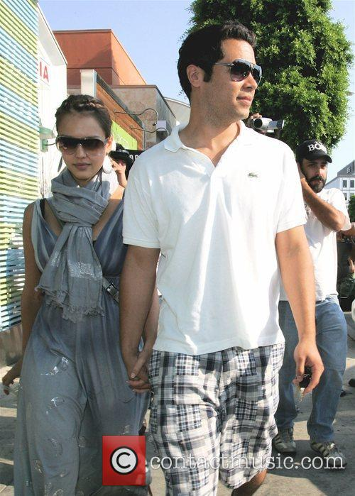 Jessica Alba and Husband Cash Warren 5