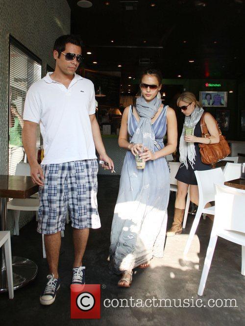 Jessica Alba and husband Cash Warren 8