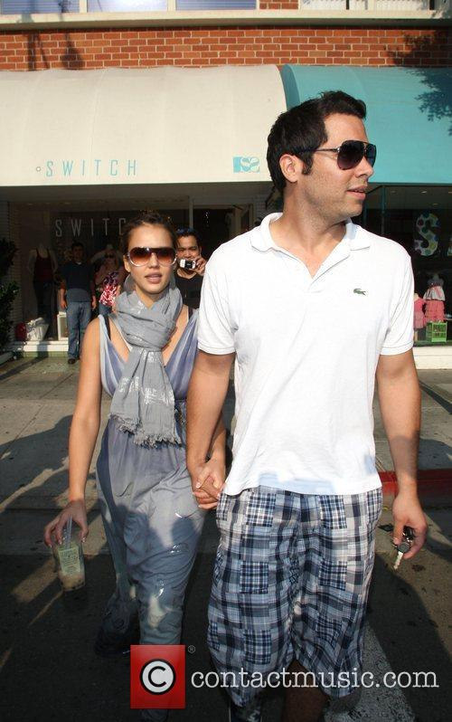 Jessica Alba and husband Cash Warren 3