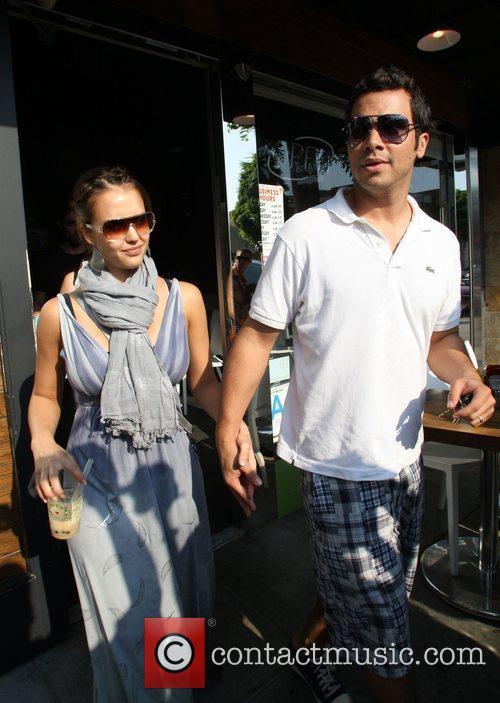 Jessica Alba and husband Cash Warren 5