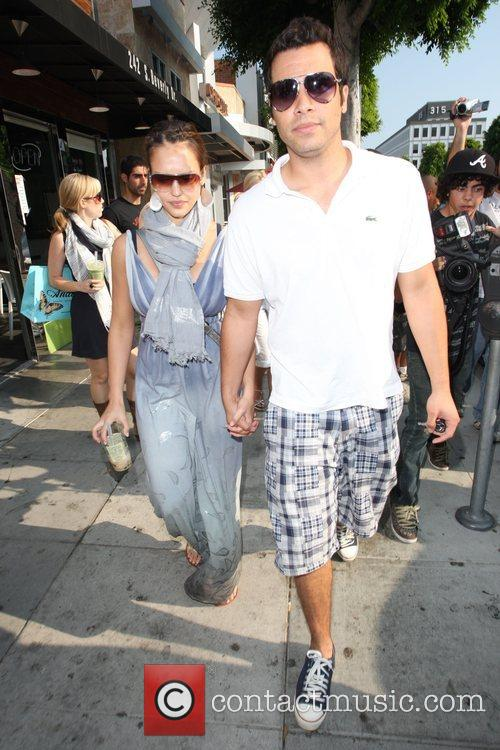 Jessica Alba and husband Cash Warren 14