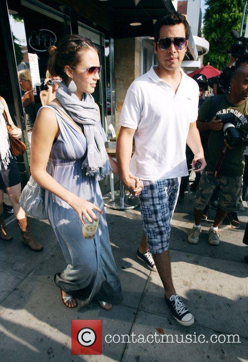 Jessica Alba and husband Cash Warren 13