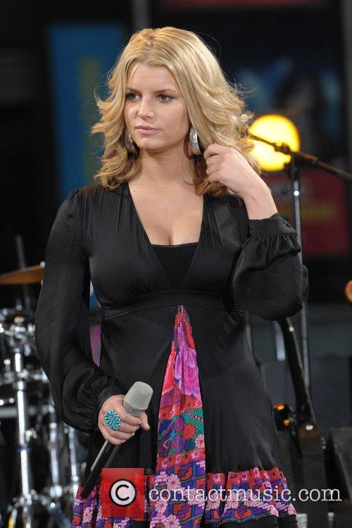 Jessica Simpson performs live for 'Good Morning America's...