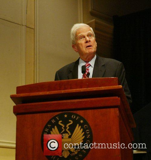 Dr. James Billington makes a speech at the...