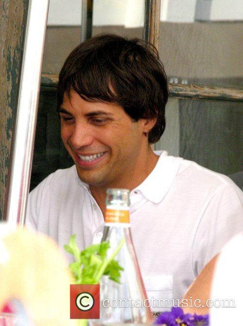 Joe Francis holds court at The Ivy Los...