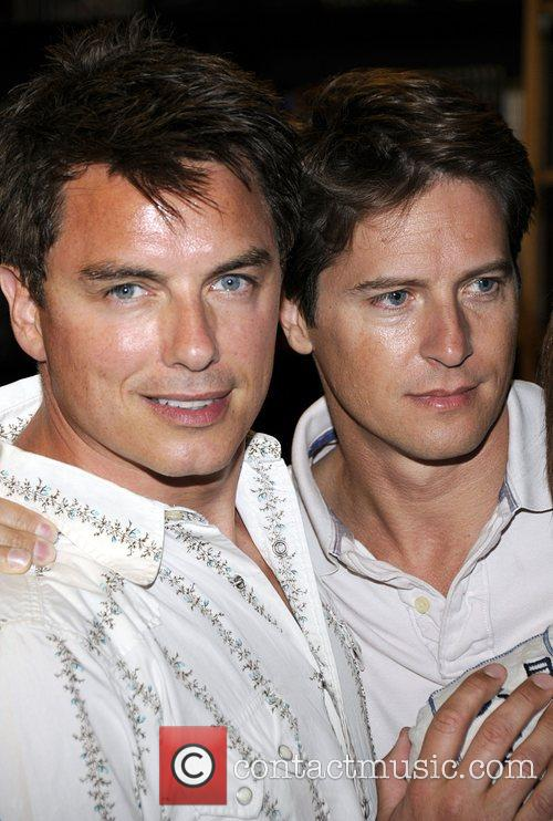 John Barrowman and his partner Scott Gill...