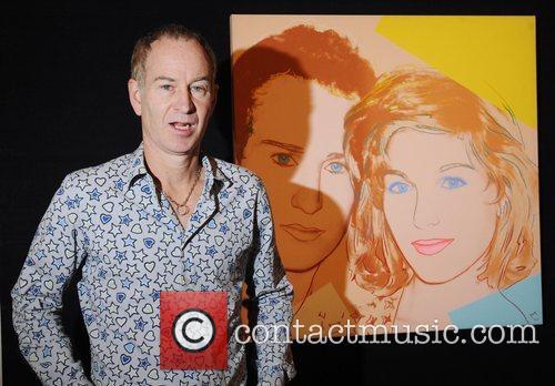 John Mcenroe Andy Warhole