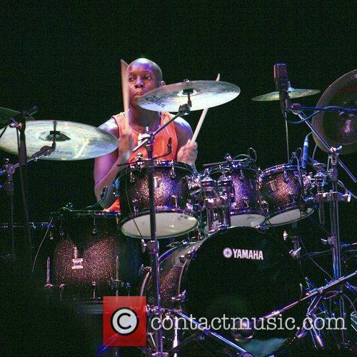 Mark Mondesir performing with Jazz Fusion Guitarist, John...