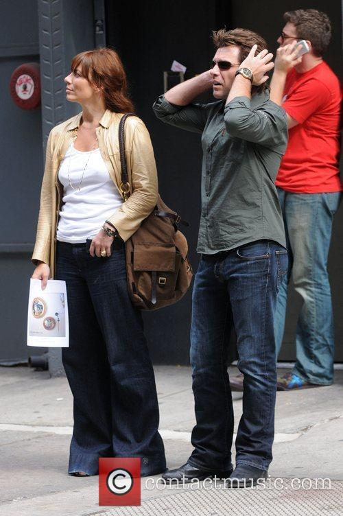 Jon Bon Jovi out and about in Soho...