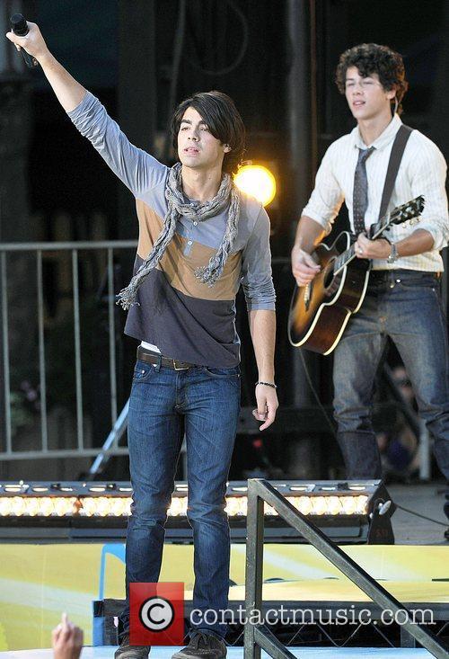 Joe Jonas perform live for 'Good Morning America's...