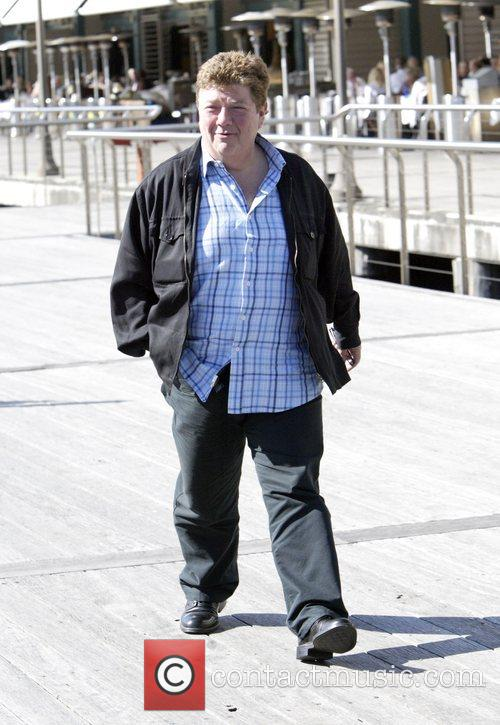 Jonathan Coleman  out and about in Sydney...