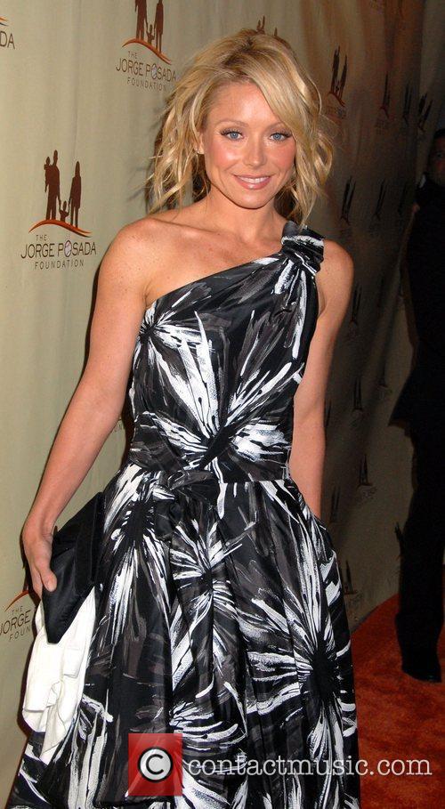 Kelly Ripa The Jorge Posada Foundation Gala at...