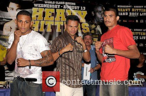Joel Julio, Jose M. Torres and Jose Varela...