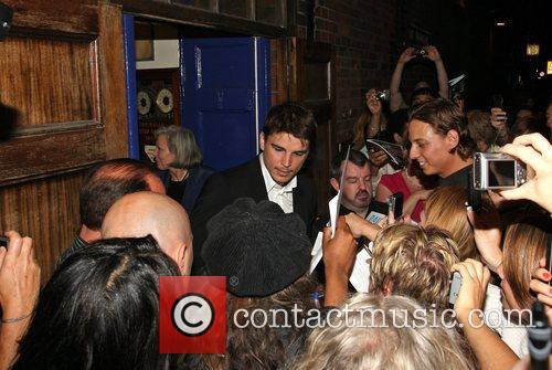 Josh Hartnett leaves the Apollo in West London...