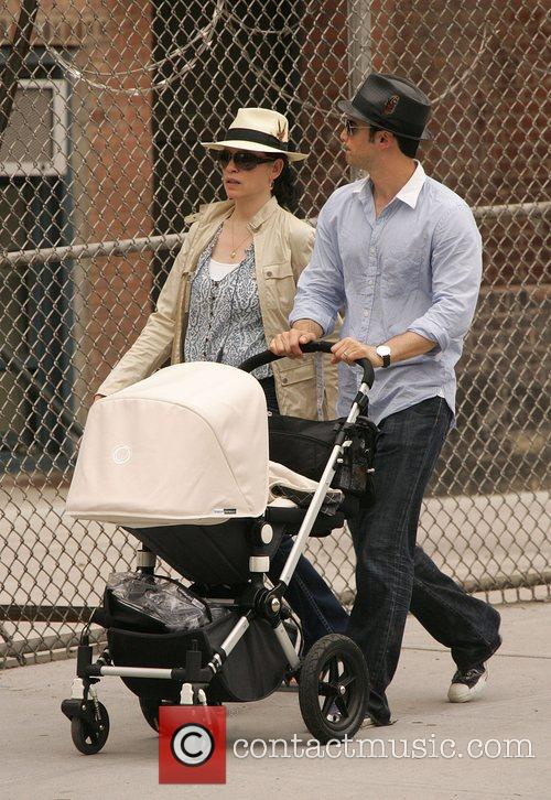 Julianna Margulies  Takes a stroll with her...