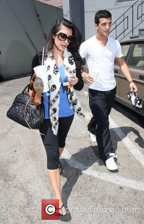Kim Kardashian and Her Dance Partner Mark Ballas 11