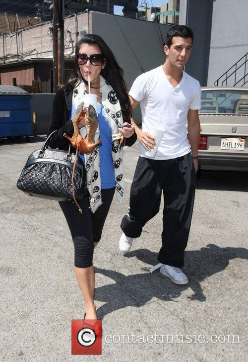 Kim Kardashian and Her Dance Partner Mark Ballas 2