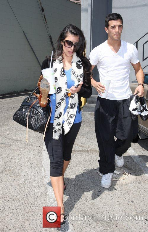 Kim Kardashian and Her Dance Partner Mark Ballas 3