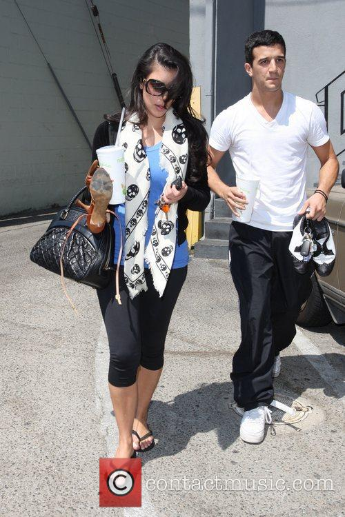 Kim Kardashian and Her Dance Partner Mark Ballas 10