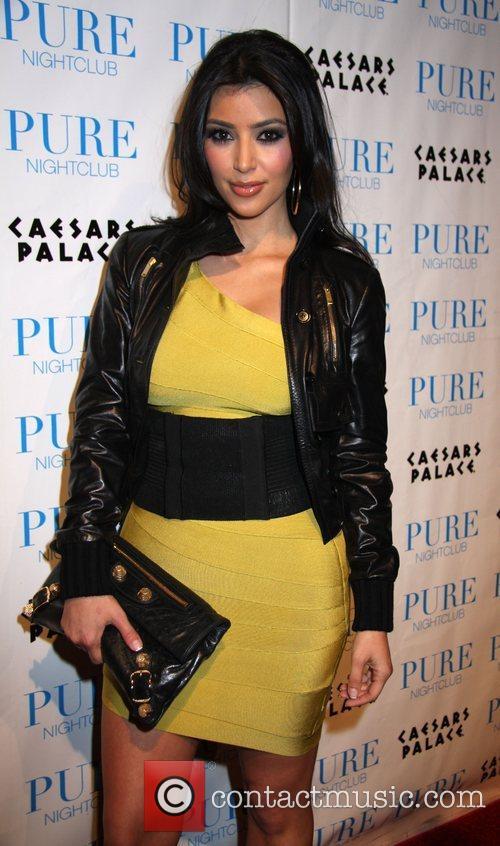 Kim Kardashian, Caesars Palace, Pure Nightclub