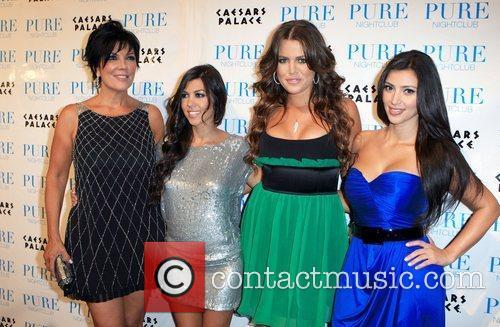 Kris Jenner, Kourtney Kardashian, Khloe Kardashian and Kim...