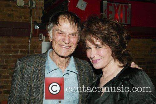 Audience member Larry Storch after a performance of...